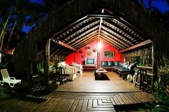 Sala de estar - Pousada Villa Nakara