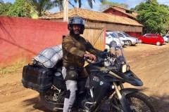 Hospedes com suas motos na Pousada Villa Nakara2