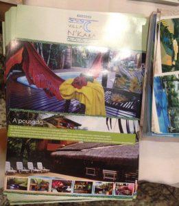Brochuras da Pousada Villa Nakara