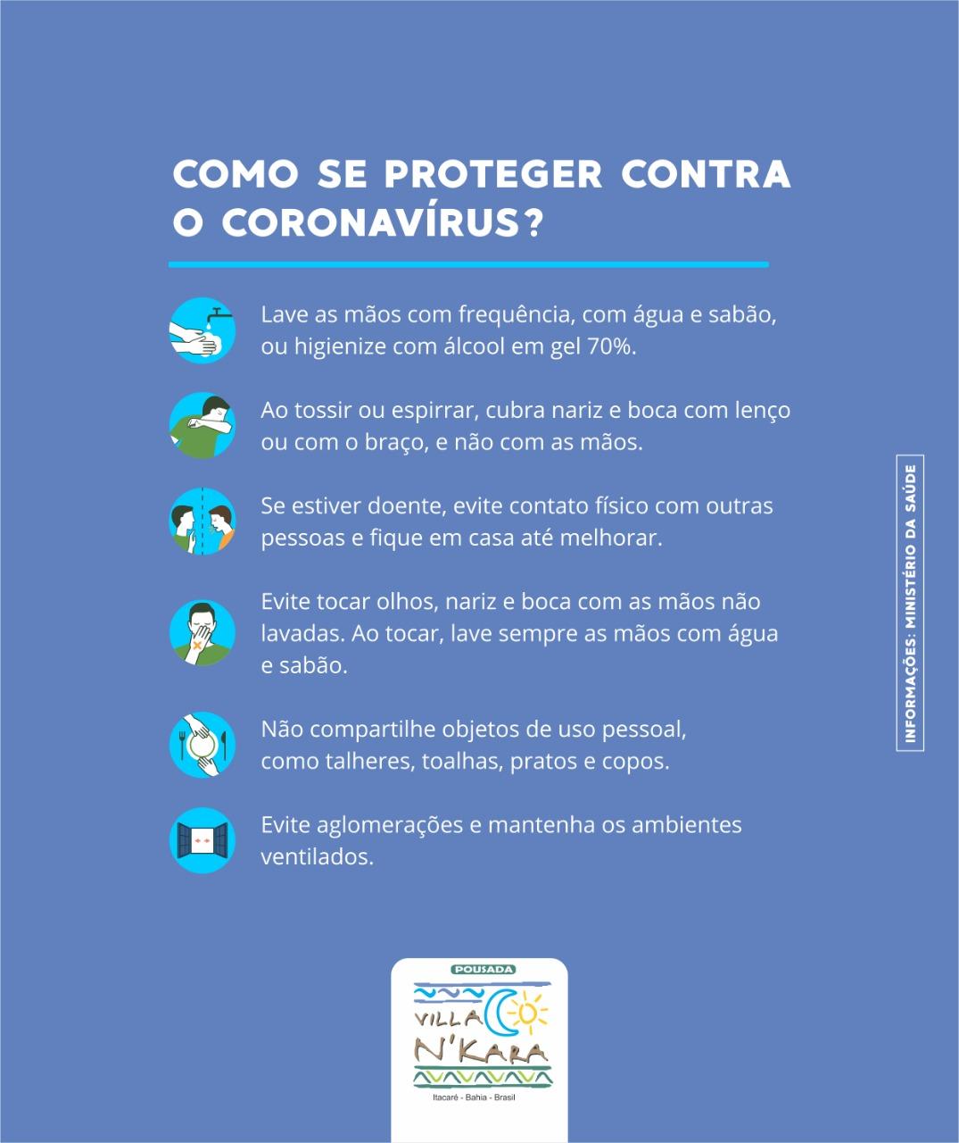 Cómo protegerse contra el Corona Virus!