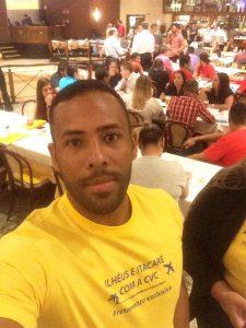 Fernando Castro, nosso representante da Pousada Villa Nakara