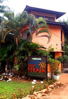 Frente - Pousada Villa Nakara